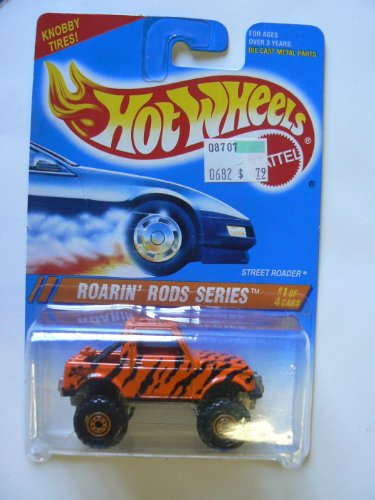 Hot Wheels Roarin' Rods Series #1 of 4 Street Roader Collector #303 Knobby Tires Card Variant
