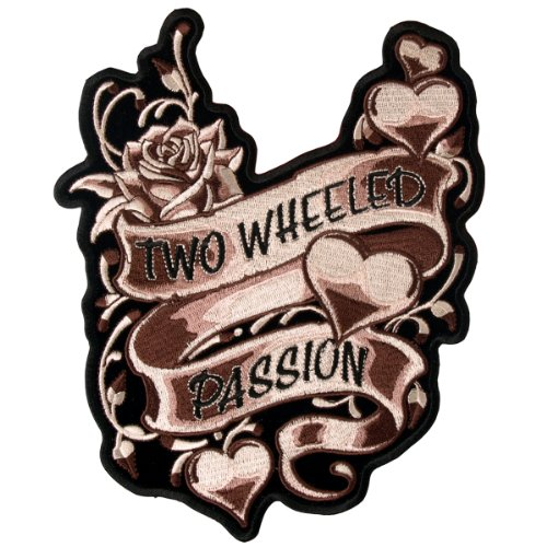 Hot Leathers 2 Wheeled Passion Ladies Patch (3