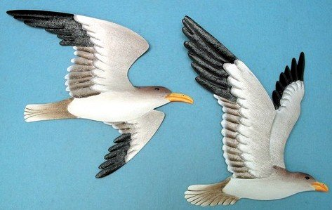 Gull Wall Plaques