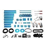 Makeblock Advanced Robot Kit-Blue (No Electronics)