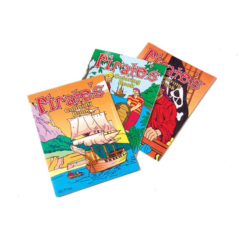 Pirate Coloring Books (12 Pack)