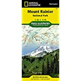 Mount Rainier National Park (National Geographic Trails Illustrated Map)