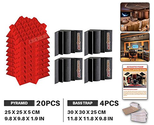 ace-punch-20-pack-pyramid-4-pack-bass-trap-2-colors-acoustic-foam-panel-diy-design-studio-soundproof
