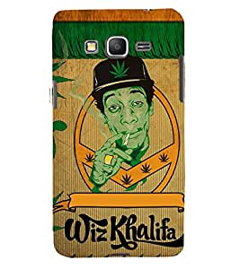 printtech Wid Khalifa Back Case Cover for Samsung Galaxy Grand Prime G530h