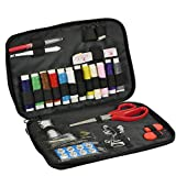 Wisehands Professional Sewing Kit, Includes 53 Quality Sewing Accessories, Excellent Option for a Beginners Sewing Kit, It Works Great As a Handy Travel Sewing Kit