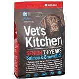 Vet's Kitchen Senior Dog Complete Dog Food Salmon and Brown Rice 3 kg
