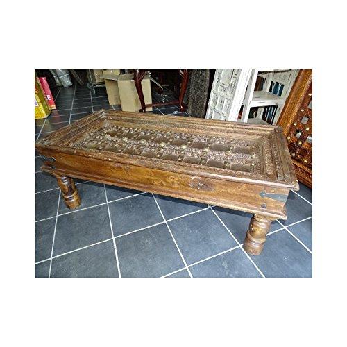 int. d'ailleurs - Tavolino riquadro Rajasthan vecchio. - VM287