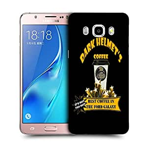 Snoogg Dark Helmets Coffee Designer Protective Back Case Cover For SAMSUNG GALAXY J5 2016 J510X