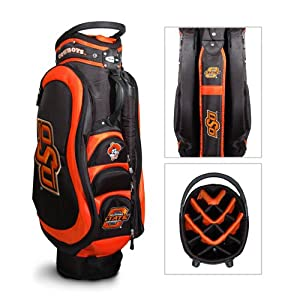 Oklahoma State Cowboys NCAA Cart Bag - 14 way Medalist - TGO-24535 by Team Golf