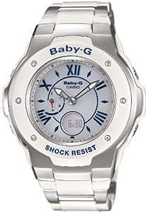 [カシオ]Casio 腕時計 Baby-G Tripper 世界6局電波対応ソーラーウォッチ     MSG-3200C-7B2JF レディース
