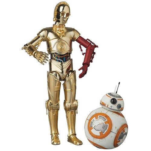 MAFEX マフェックス C-3PO & BB-8 SET 『スター・ウォーズ/フォースの覚醒』ノンスケール ABS&ATBC-PVC塗装済みアクションフィギュア