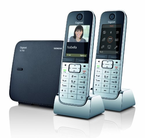 Gigaset SL785 Twin TAM DECT Telephone