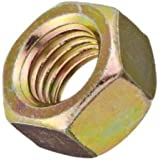 Steel Hex Nut, Grade 9, Right Hand Threads, Meets ASME B18.2.2, Inch
