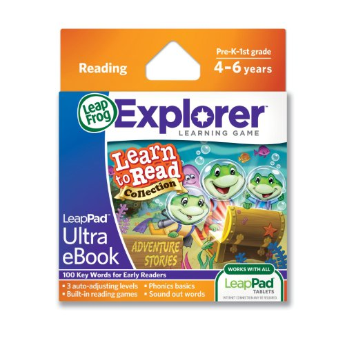 LeapFrog-LeapPad-Ultra-eBook-Learn-to-Read-Collection-Adventure-Stories-works-with-all-LeapPad-tablets