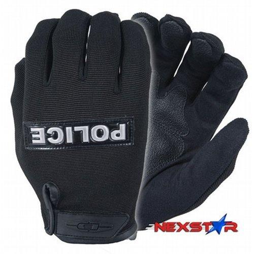 Damascus Gear MX10RPSM Nexstar I Lightweight Duty Gloves with â??POLICEâ? Reflective ID Plate, Small, B