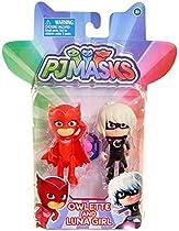 Disney Junior PJ Masks Owlette & Luna Girl Action Figure 2-Pack