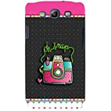 For Samsung Galaxy S3 I9300 :: Samsung I9305 Galaxy S III :: Samsung Galaxy S III LTE Oh Snap ( Oh Snap, Good Quotes, Nice Quotes, Polka, Heart, Camera ) Printed Designer Back Case Cover By FashionCops