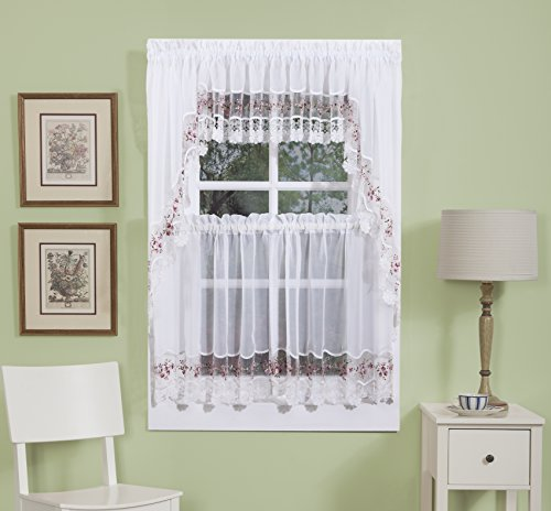 Vintage And Vintage Looking Kitchen Curtains Shopswell