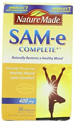 Nature Made SAM-e Complete 400mg, 36 Tablets