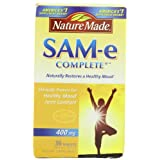 Nature Made SAM-e Complete 400mg, 36 Tablets ~ Nature Made
