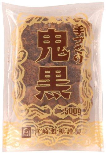 黒砂糖の宮崎商店  鬼黒 色(濃い)・味(濃い) カチ割タイプ 500g