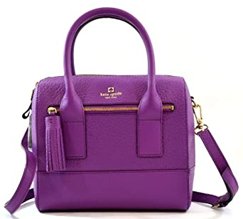 Kate Spade Southport Avenue Alessa Crossbody Shoulder Bag Purse Handbag (African Violet)