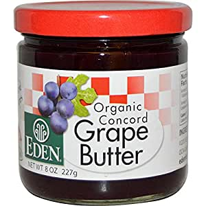 Eden Foods Organic Concord Grape Butter
