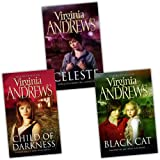 Virginia Andrews Gemini 3 Books Collection Pack Set (Celeste, Black Cat, Child of Darkness)by Virginia Andrews