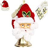 Ghasitaram Gifts Santa Ringing Bell With Christmas Chocolate Box