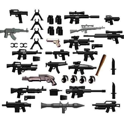 BrickArms-Custom-42-Piece-Set-25-Scale-Weapons-Pack