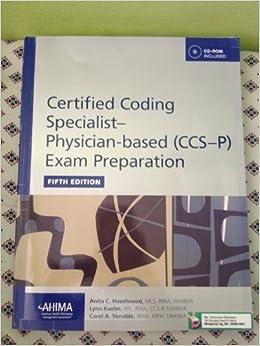 Ccs p exam prep book