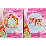 What Kids Want! Disney Princess Swim Ring And Arm Floats For Children Age 3+