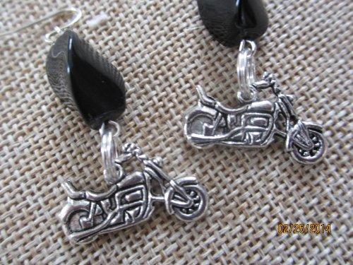 50% off Harley Davidson Motorcycle Earrings,motorcycle Jewelry, Harley Jewelry