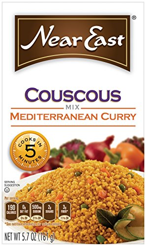 Near East Couscous Mix, Mediterranean Curry (Pack of 12 Boxes)
