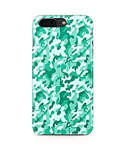 Fonokart Premium Apple iPhone 7 Plus Camouflage Designer 3D Printed Matte Finish Slim Unique High Quality Case Slim Lightweight Back Cover Hard Case