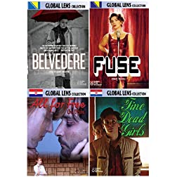 Global Lens - The Best of World Cinema - Eastern Europe - Volume 2 - 4 DVD Collector's Edition