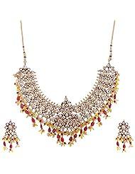 Kisan Jewellers Designer Necklace Set For Women (HSJD/46)