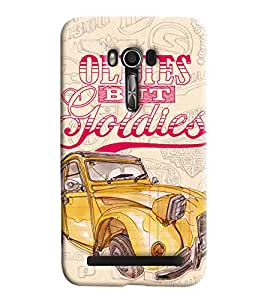Blue Throat Vintage Cars Old But Goodies Printed Designer Back Cover For Asus Zenfone 2 ZE550KL