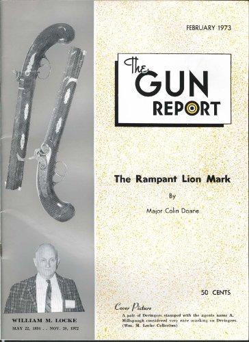 Gun Report William M Locke Millspaugh Deringers John Chevalier 2 1973