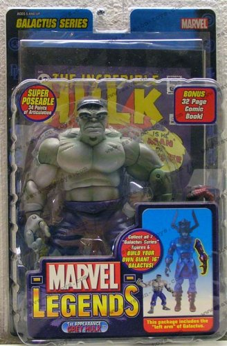 Marvel Legends 'grey Incredible Hulk' Action Figure (1st Appearance Hulk Galactus Series) Picture