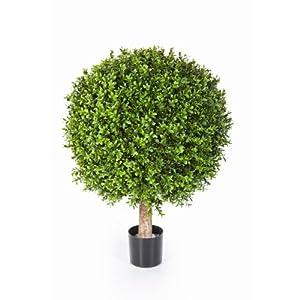 k nstliche buchskugel tom auf stamm 432 bl tter 45cm 30cm k nstlicher buchsbaum buxkugel. Black Bedroom Furniture Sets. Home Design Ideas