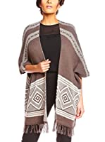 ZZ_Callisto Paris Poncho (Chocolate)