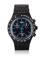 Swatch Reloj de cuarzo Man REPTILE BLUE YCB4016AG 40 mm