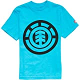 Element Boys' Big Tree T-Shirt Cyan L