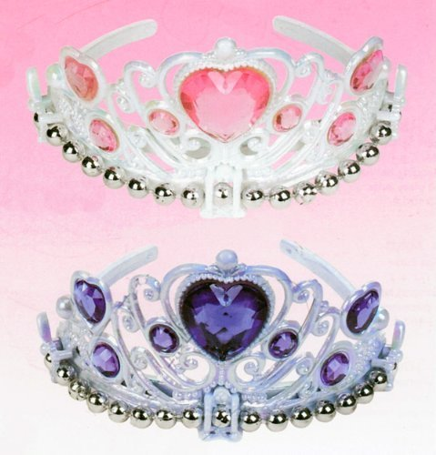 Glamour Girl Gem Tiara, Purple