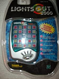 Tiger Electronics Lights Out 2000 Hand Held Game