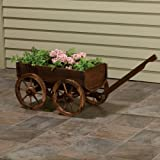 Wooden Planter Wagon