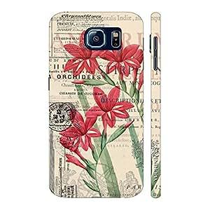 Enthopia Designer Hardshell Case Flowerygram Back Cover for Samsung Galaxy S7