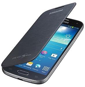 Samsung Original EF-FI919BBEG Flip Handyhülle für Galaxy S4 Mini