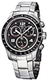 TISSOT V8 T039.417.11.057.02 GENTS STEEL BRACELET STAINLESS STEEL CASE WATCH